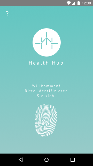 Screen01 – Health Hub